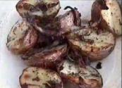 Baked Red Potatoes With Dill, Chive And Bacon